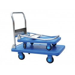 Folding Plastic Base Trolley PLA-300